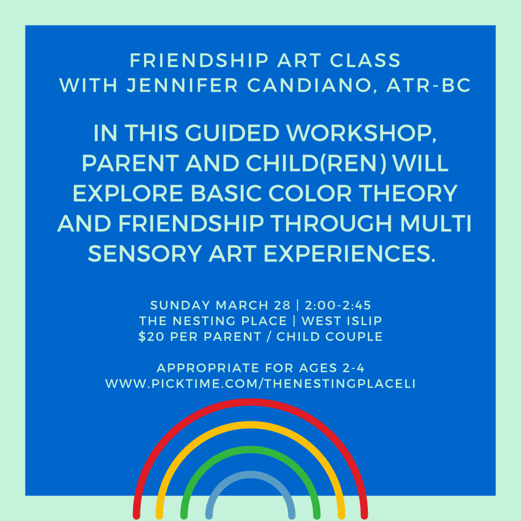 Art Class for Toddlers 2-4  Mommy and Me Toddler and Me West Islip crafts Long Island