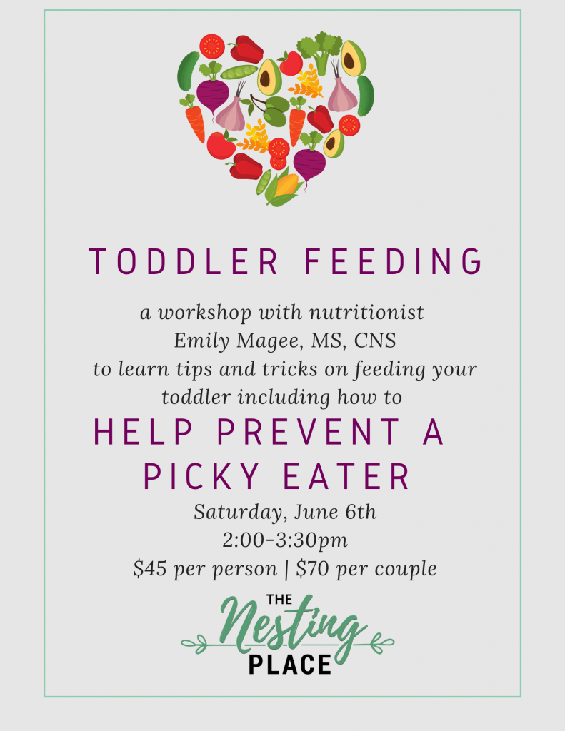 Toddler Feeding and Picky Eater Prevention Workshop Mommy and Baby Toddler Nutrition Health Healthy West Islip Long Island